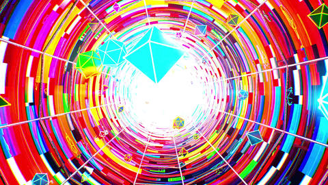 Tunnel VJ LOOP no3 Animation