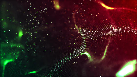 HD Loopable Background with nice abstract wave Animation