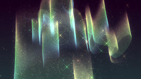 SHA Colorful Aurora Image Effects Animation