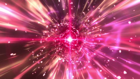 SHA Pink Hosha Image BG CG動画