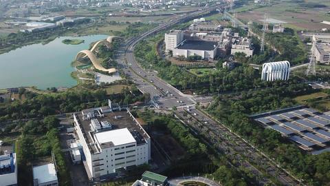 DJI MAVIC 4K Taiwan Tainan Aerial Video Time lapse Xinshi STSP 20170930 Filmmaterial