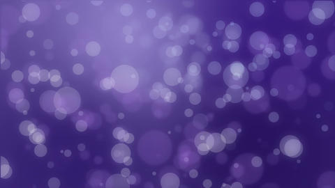 Magical dark purple glowing bokeh background Animación