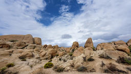 Storm clouds in Joshua Tree Footage