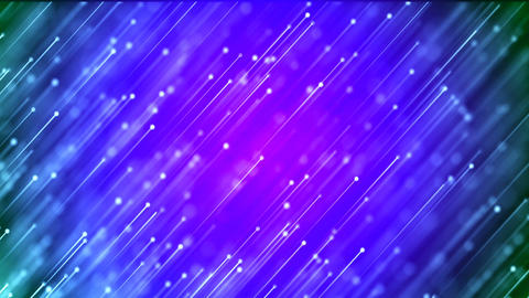 HD Loopable Background with nice abstract blue fireworks Animation