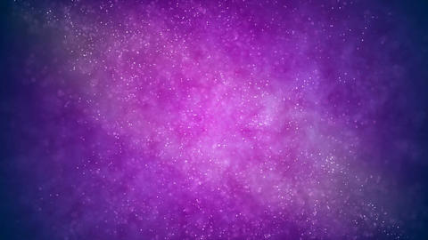 HD Loopable Background with nice purple particles Animation