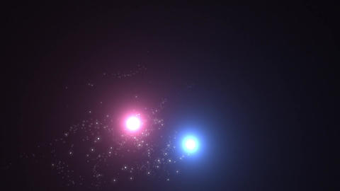 2 light spark , blue &pink Animation