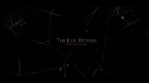 THE EVIL WITHIN titles After Effects Template