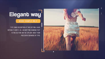 Minimal Portfolio After Effects Templates