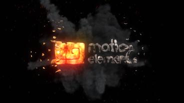 Explosion Logo After Effects Template