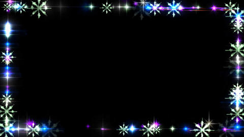 FLASHING LIGHT FRAME CG動画素材