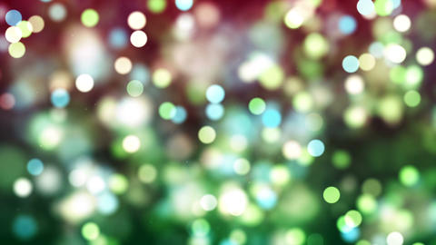 HD Loopable Background with nice green bokeh Animation