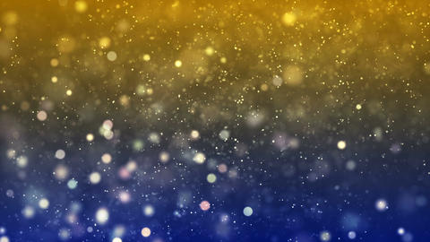 HD Loopable Background with nice yellow bokeh Animation