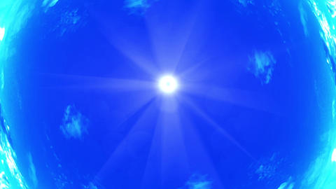 sky rotation Animation