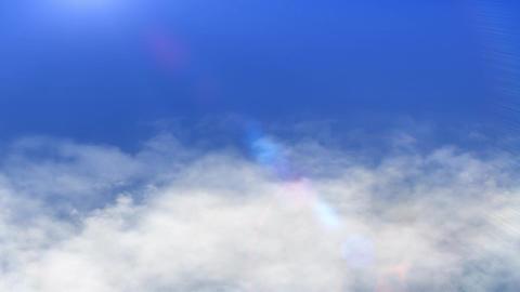 Sea of clouds 2 CG動画素材