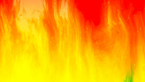 HD Loopable Background with nice abstract flame Animation