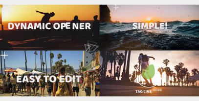 Fun Dynamic Opener After Effects Template