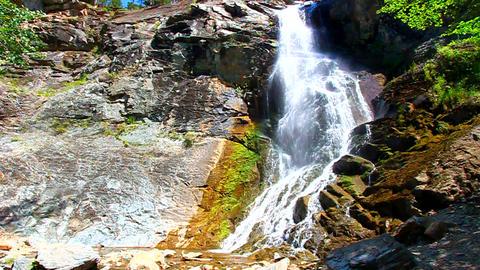 Bridal Veil Falls South Dakota Footage