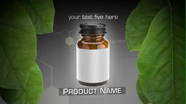 Natural Vitamins stock footage