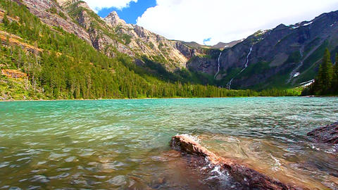 Avalanche Lake Glacier National Park Footage