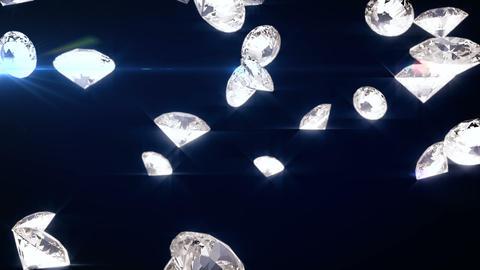 falling diamonds P 2 CG動画
