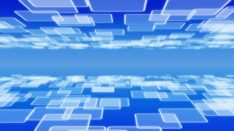 abstract tile blue P 4 1 Animation