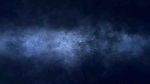 Deep Space Flight Footage
