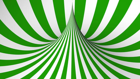 Abstract background with green and white geometric shape Animation
