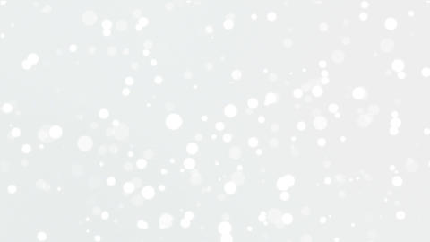 Glowing silver white bokeh background Animation