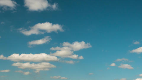 Blue sky with ragged clouds time laps HD 画像
