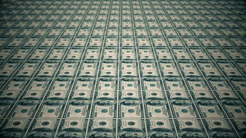 Dollar bills, money background Live Action