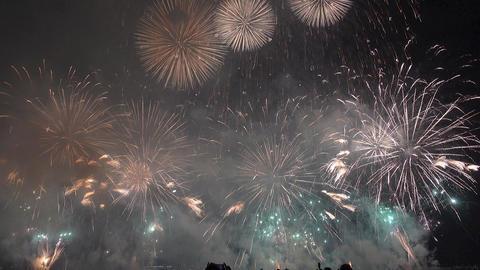 Kobe Fireworks 32 Footage