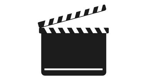 Clapperboard 動画素材, ムービー映像素材