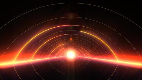 VJ Arcs of Light Gate Animation