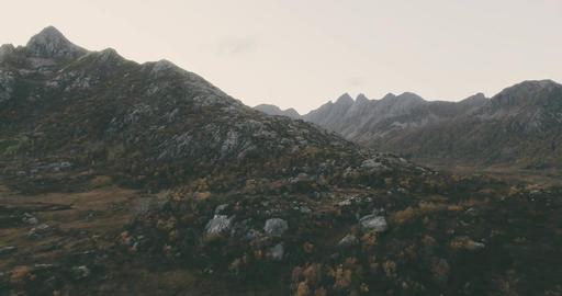 Epic landscape Norway Lofoten Footage