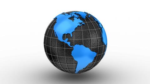 Creating a Rotating Globe Image