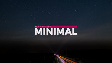 New Minimal Titles After Effects Templates