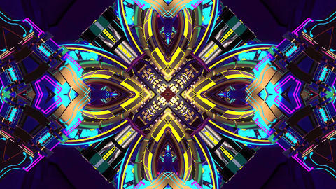 4k-VJ Cosmic Multicolor Abstract Animation