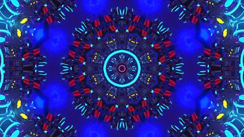 4k-Colorful Kaleidoscope Animation
