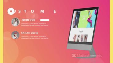 Website Presentation After Effects Template