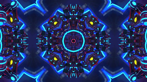 4k-VJ Cosmic Multicolor Abstract6 Animation