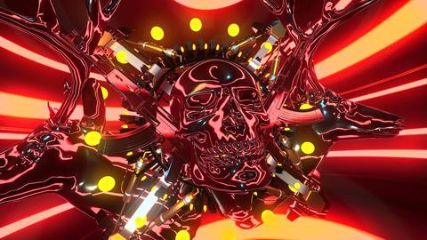 4k-Kaleidoscope Rainbow Motion Background2 Animation