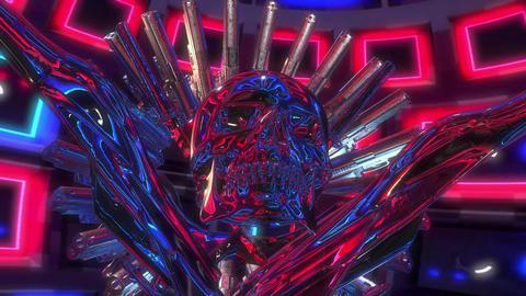 4k-glass kaleidoscope pattern Animation