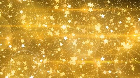 Rebound particle star gl CG動画