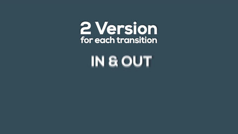 30+ Matte Transitions Pack Image