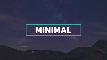 Fresh Minimal Titles After Effects Templates