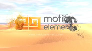 Sand Logo After Effects Template