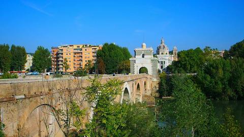 the Milvian bridge Footage