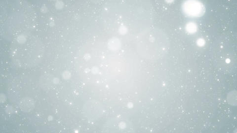 Particles white business clean bright glitter bokeh dust abstract background CG動画素材