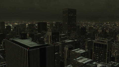 Big City Green Night Animation