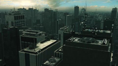 Big City The Matrix Stock Video Footage